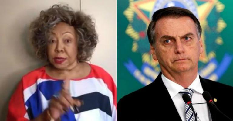 Alcione compra briga com Bolsonaro: ''Respeite o povo nordestino''