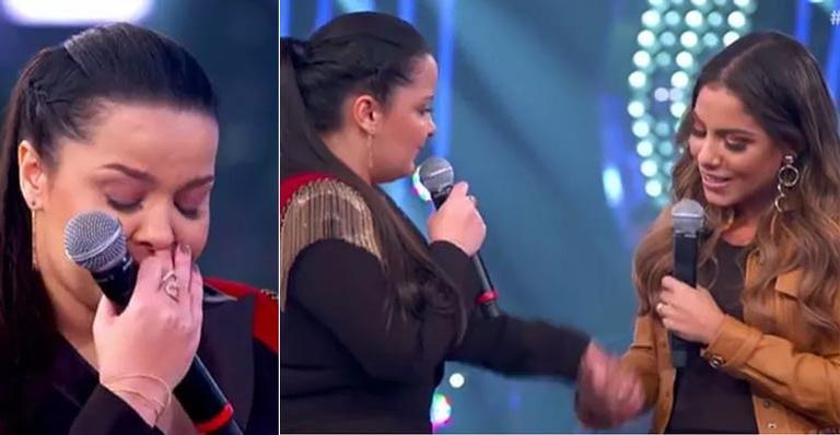 Maiara e Gabriela Rocha no programa Só Toca Top