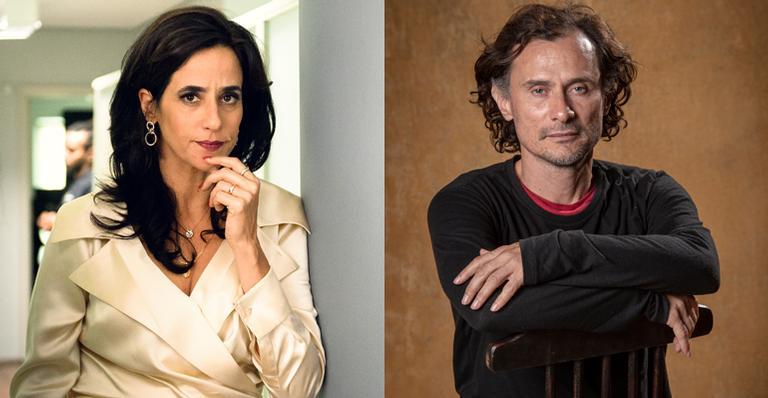 Mariana Lima e Enrique Diaz