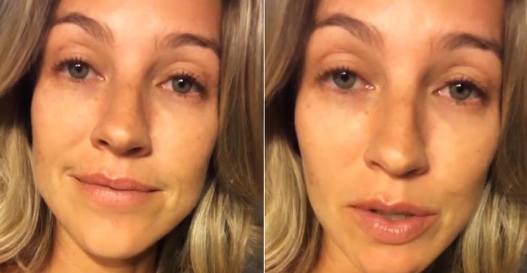 Depoimento da atriz que revela reação do ex-marido causou uma comoção nas redes sociais