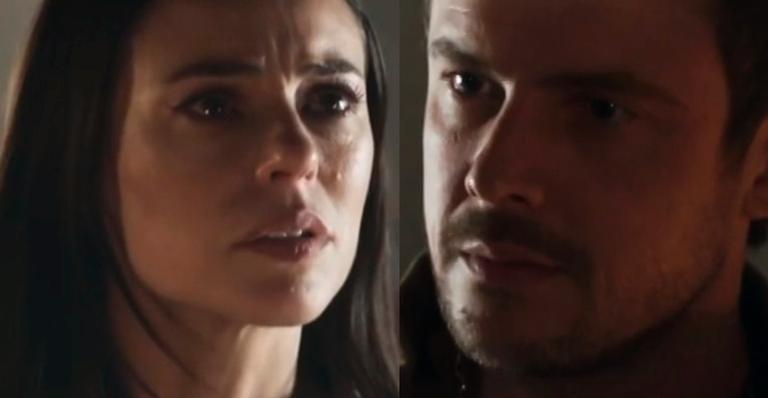 Paolla Oliveira como Vivi Guedes e Sérgio Guizé como Chiclete em 'A Dona do Pedaço'