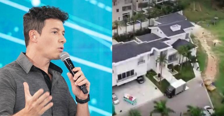 Rodrigo Faro abre sua mansão com duas ilhas para programa de TV