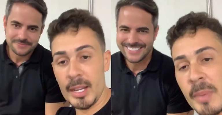 Humorista rebate acusações de briga e amizade abalada com marido da cantora Simone