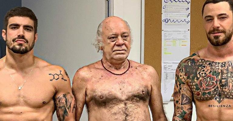 Caio Castro, Tonico Pereira e Felipe Titto