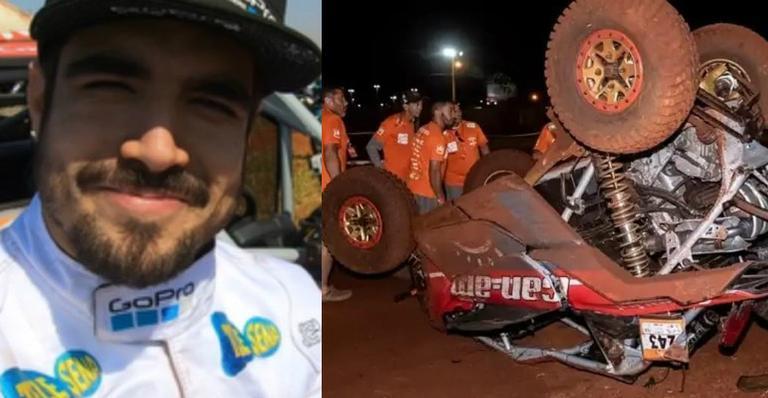 Resultado de imagem para Caio Castro sofre acidente durante rally em Campo Grande