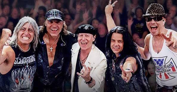 A banda alemã se apresenta após o show do Iron Maiden no dia 4 de outubro