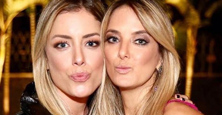 ''Quantos momentos já passamos juntas'', desabafou ela ao homenagear a filha do ex