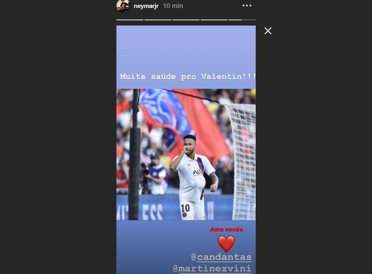 Neymar Jr faz homenagem para a ex-namorada ao fazer gol em ...