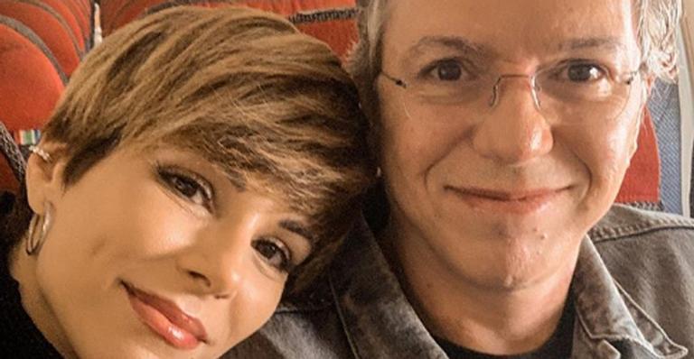 Ana Furtado e o marido, Boninho