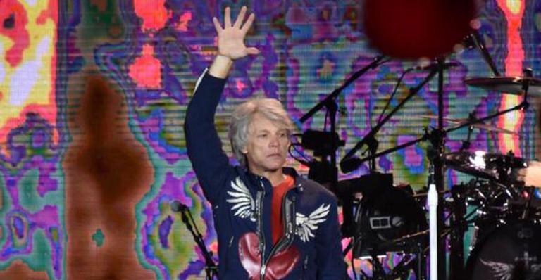 Aos 57 anos, o ídolo do hard rock animou público em show pré-RiR