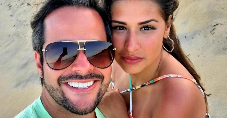 Marido de Simone perde 8kg e revela 'antes e depois' chocante nas redes