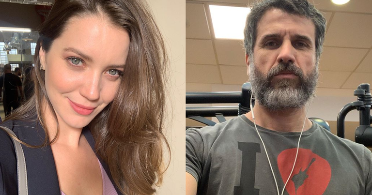 Nathalia Dill e Eriberto Leão viveram par romântico