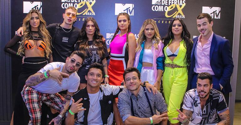 Participantes do reality show De Férias com o Ex Brasil: Celebs