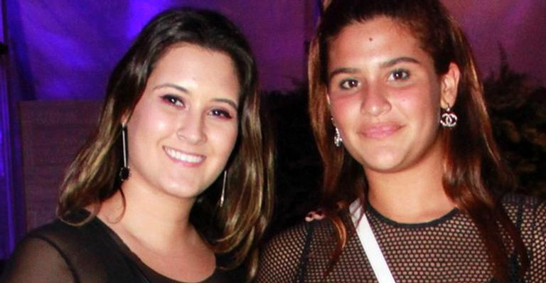 Beatriz Bonemer e Giulia Costa surgem com looks transparentes no Rock in Rio