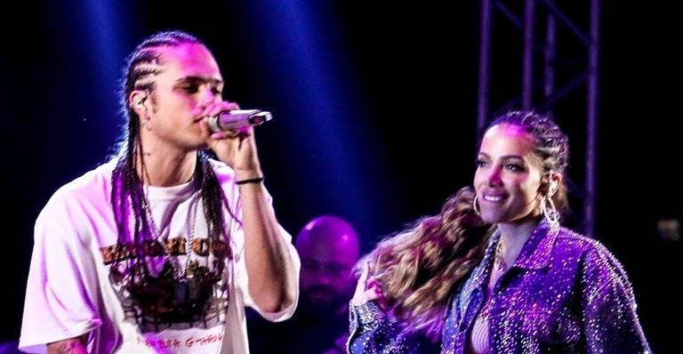 Anitta causa na web ao responder pergunta capciosa sobre Vitão