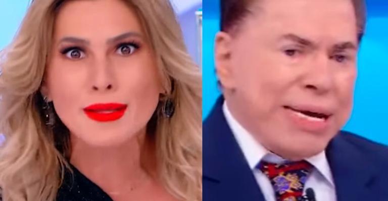 Silvio Santos tenta fazer Lívia Andrade incorporar espírito no 'Programa Silvio Santos'