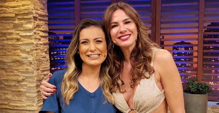 Andressa Urach conversa com Luciana Gimenez sobre sua antiga vida