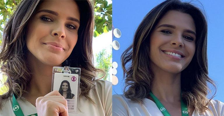 Jornalista emociona com despedida da Globo após 13 anos como garota do tempo: 'Tempo de Deus'