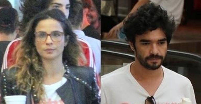 Maria Ribeiro e Caio Blat brigam pela divisão de bens