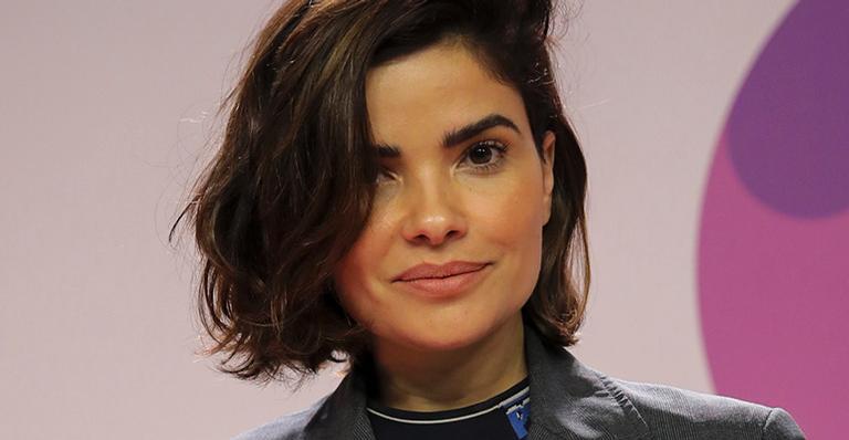 Vanessa Giácomo fica loira para nova série da Globo