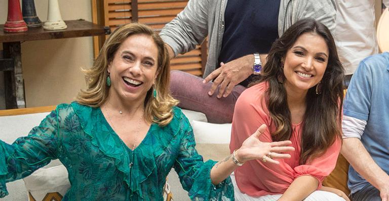 Cissa Guimarães e Patricia Poeta protagonizam climão ao vivo no É De Casa