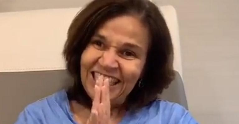 Claudia Rodrigues recebe alta hospitalar