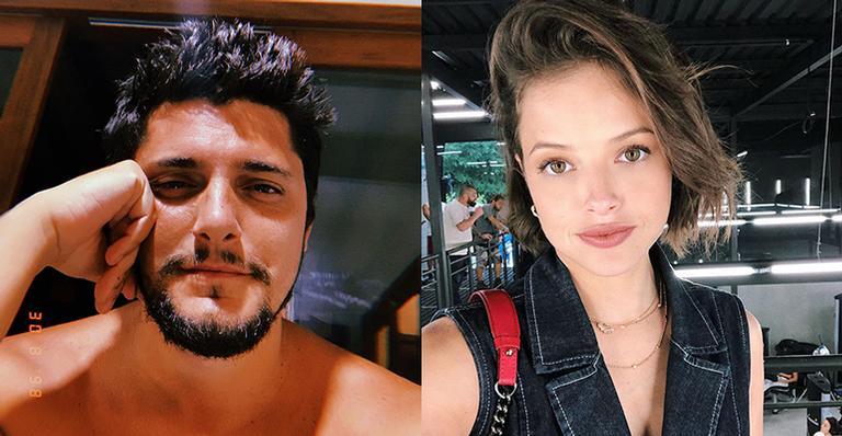 Bruno Gissoni contracena com Agatha Moreira em A Dona do Pedaço
