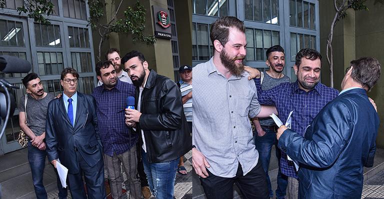 Humorista vai até delegacia para depor após ser agredido em show