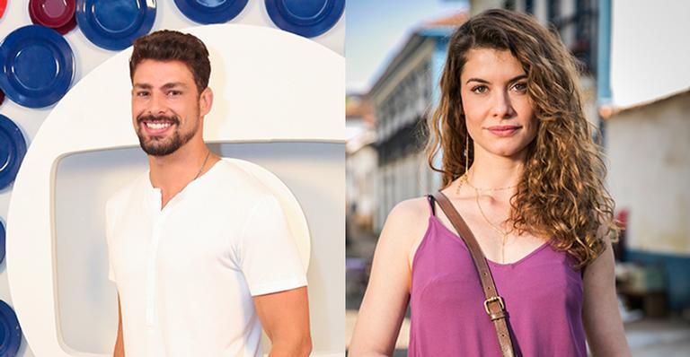 Cauã Reymond vai contracenar com a ex-namorada, Alinne Moraes, em nova novela