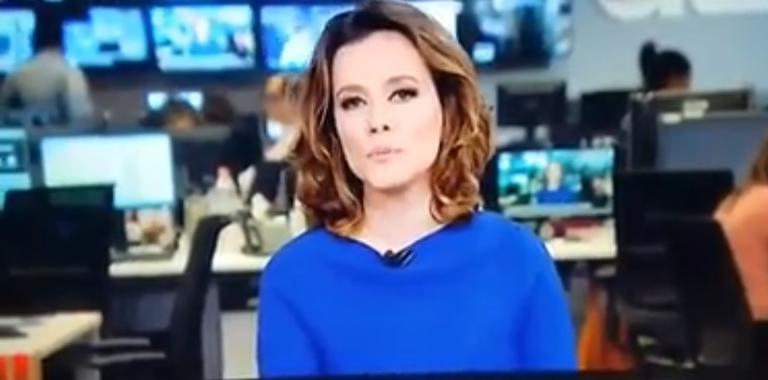Jornalista da GloboNews comete gafe e chama Bolsonaro de ex-presidente