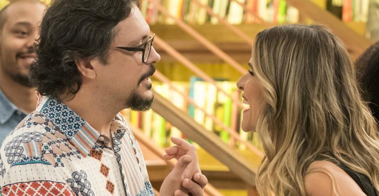 Lucio Mauro filho e Ingrid Guimarães em 'Bom Sucesso'