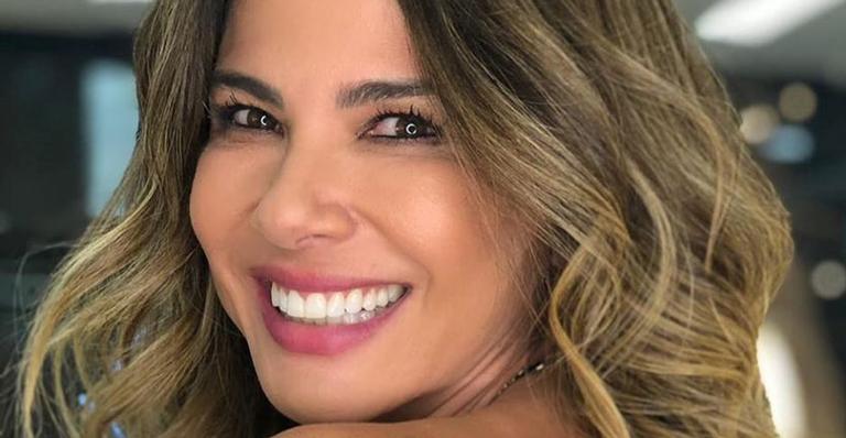 Nas redes, a apresentadora mostrou o talento musical de seu filho com Marcelo de Carvalho