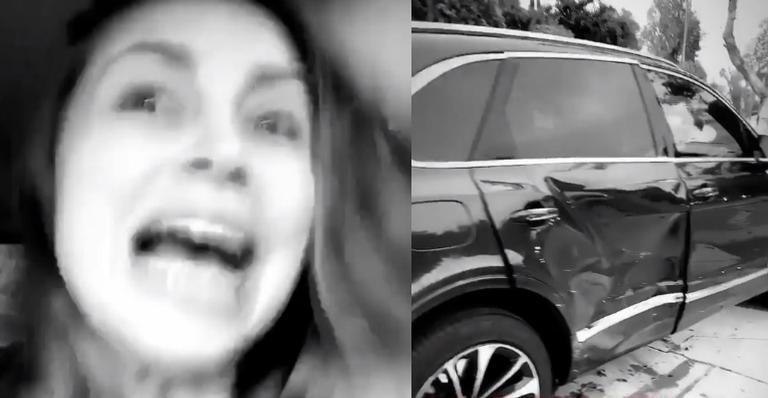 Vídeo mostra influencer sofrendo acidente de carro; entenda