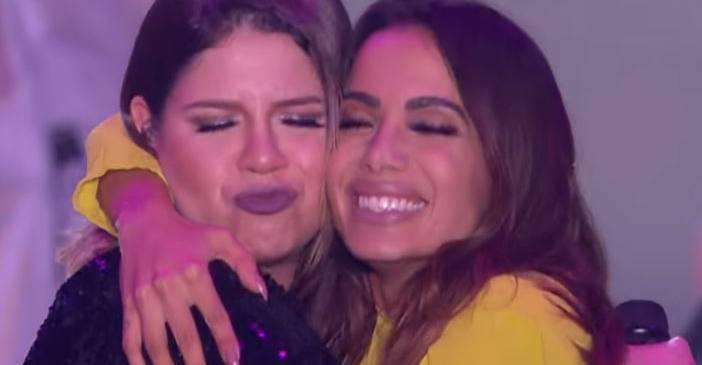 Anitta comemora sucesso de parceria com Marília Mendonça: ''Morando no topo''