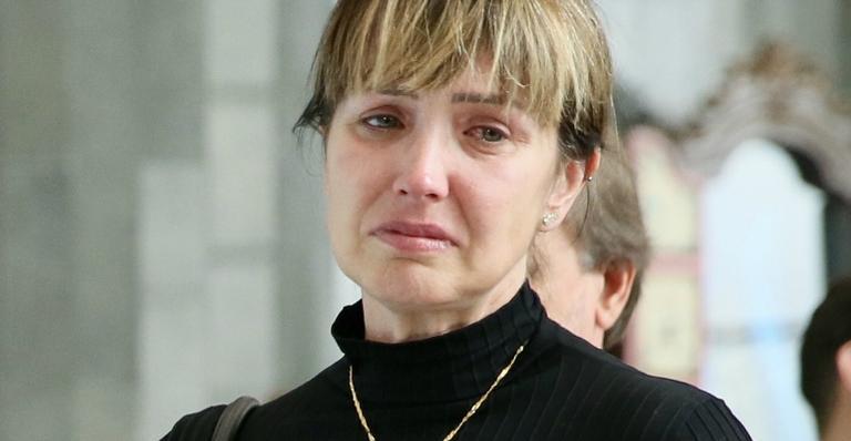 Sem segurar as lágrimas, Alessandra disse adeus a Gugu; veja