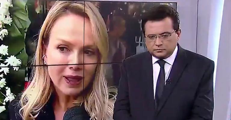 Decisão da emissora de cortar entrevista da loira foi duramente criticada