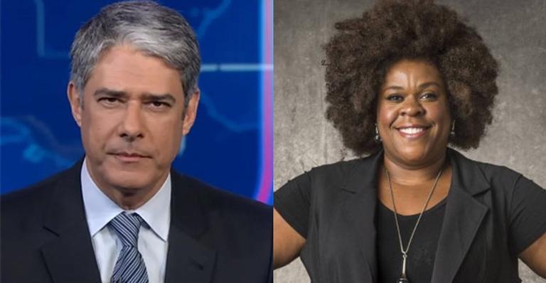 Apresentador do Jornal Nacional lamenta situação preconceituosa contra atriz da Globo