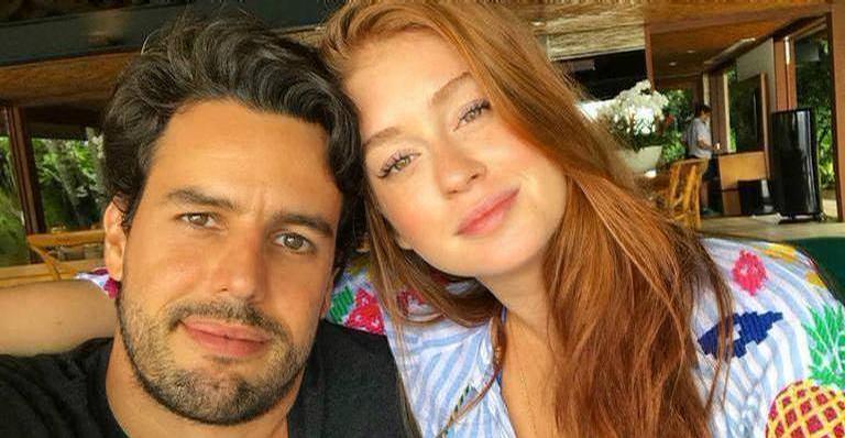 Marina Ruy Barbosa revela o que mais admira no marido