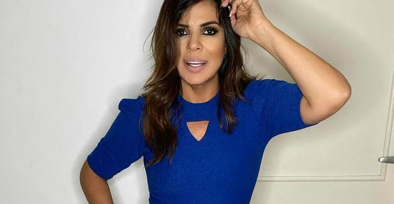 Aos 51, apresentadora ostentou curvas com vestido colado; veja