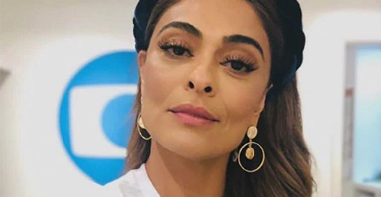Juliana Paes abusa do decote em look para o carnaval