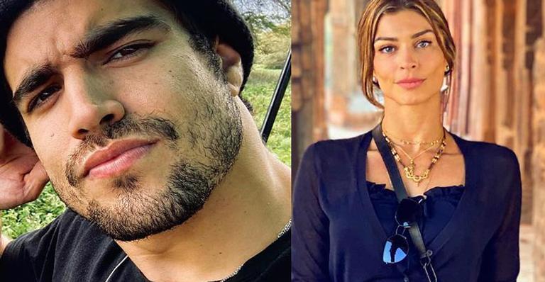 Caio e Grazi surgiram em momento íntimo em Valentine's Day; veja