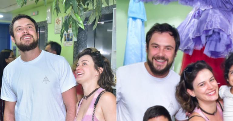 Casal brincou com as crianças em hospital contra câncer e fizeram doação especial