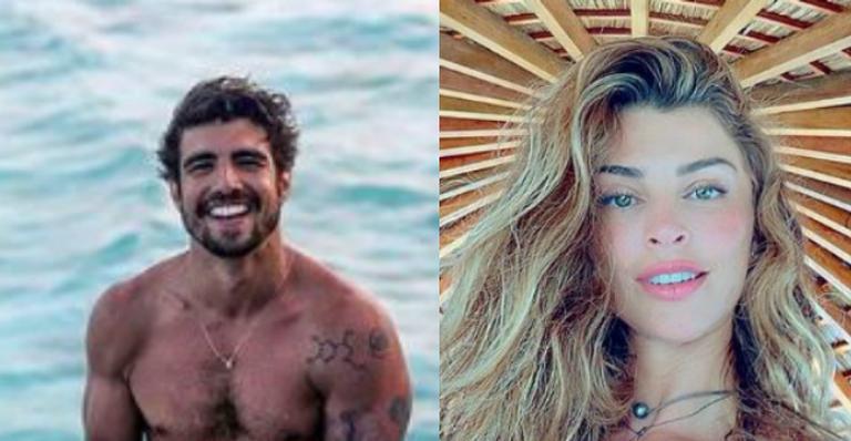 Casal posou juntos pela primeira vez durante viagem romântica a dois pelas Maldivas