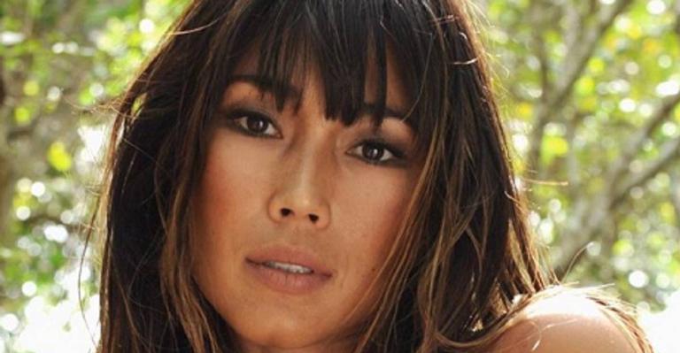 A atriz está curtindo alguns dias de descanso na ilha de Bali, na Indonésia