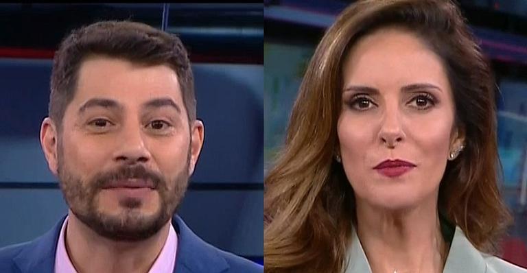 Após deixarem a Globo, dupla estreou no comando da nova emissora neste domingo