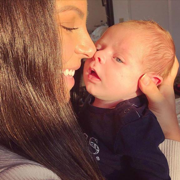 Andressa Miranda surge em foto encantadora com o filho, Bento