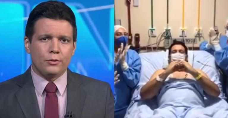 Em momento comovente nas redes sociais, jornalista da TV Globo apareceu para agradecer