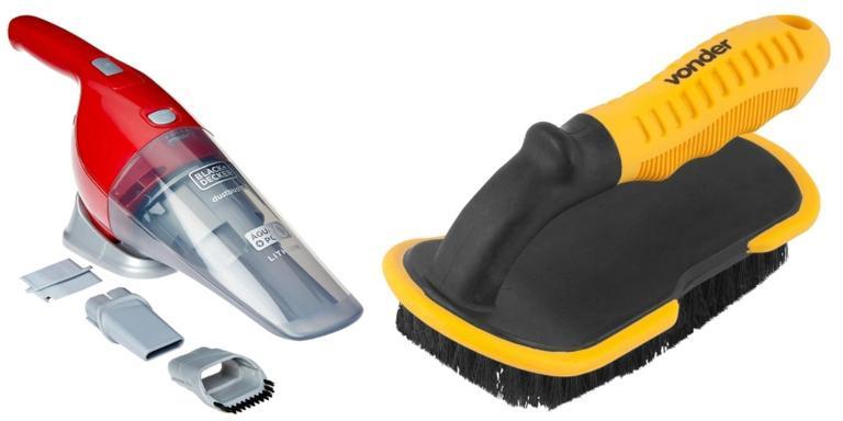 Vaporizador, aspirador e escova ideais para evitar proliferação de sujeira