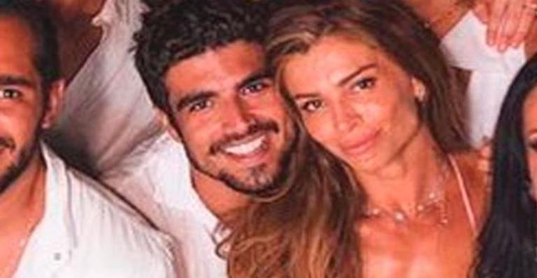 Galã mostrou momentos inéditos de viagem romântica com Massafera e encantou as redes sociais