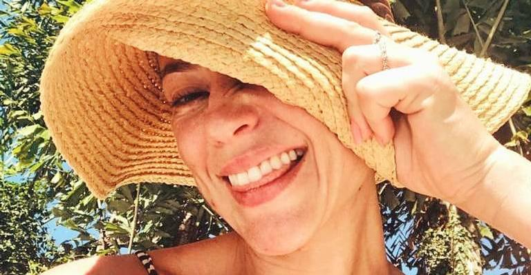 A atriz compartilhou o registro na tarde desta quinta-feira (9)
